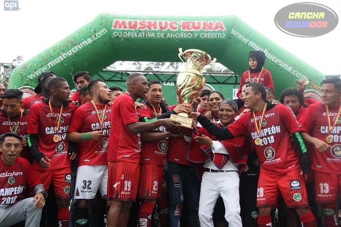 Mushuc Runa debuta en Copa Sudamericana ante Unión Española