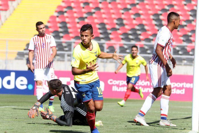 Ecuador debuta en Sudamericano Sub 20, con categórica goleada contra Paraguay