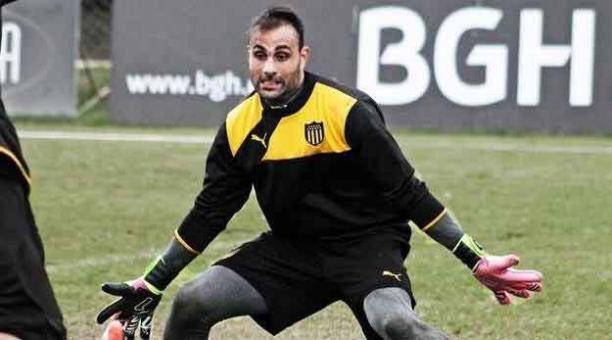 Damián Frascarelli , nuevo arquero de Barcelona
