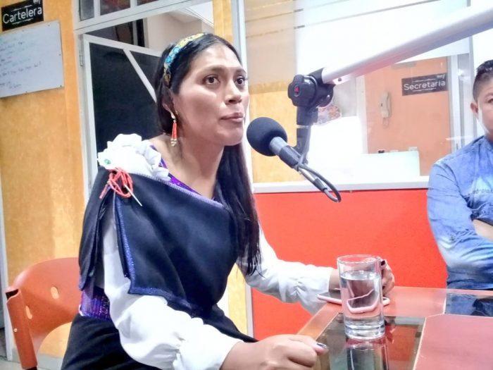 Karina Chango denuncia supuestos comentarios discriminatorios de Miguel Angel Loor