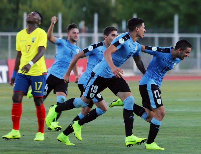 Ecuador  cayó 3 – 1 frente a Uruguay en el Sudamericano Sub-20