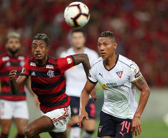 Flamengo sometió a Liga de Quito en el Maracaná