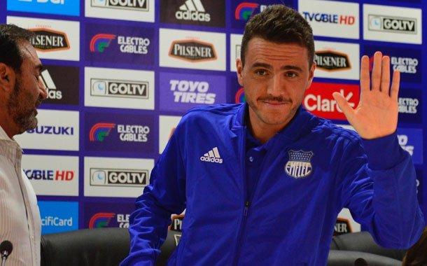 Mariano Soso sigue firme en Emelec