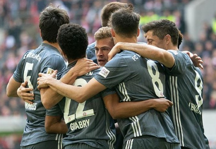Bayern Múnich goleó 4-1 al Düsseldorf en la Bundesliga