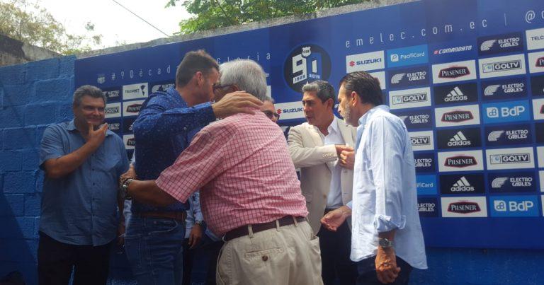 Mariano Soso se despidió de Emelec