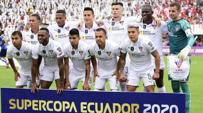 Liga de Quito se coronó campeón de la Supercopa Ecuador | Cancha ...